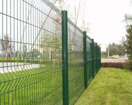 小区护栏网安装案例