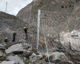 边坡被动防护网
